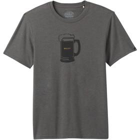 Prana Beer Belly Journeyman T-shirt Heren, grijs